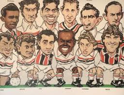 Alguns ídolos de toda a história do SPFC