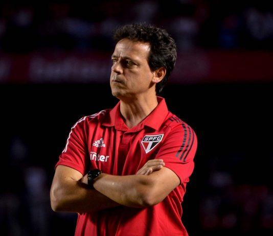 São Paulo faz treino coletivo com Diniz enérgico e exigindo pressão